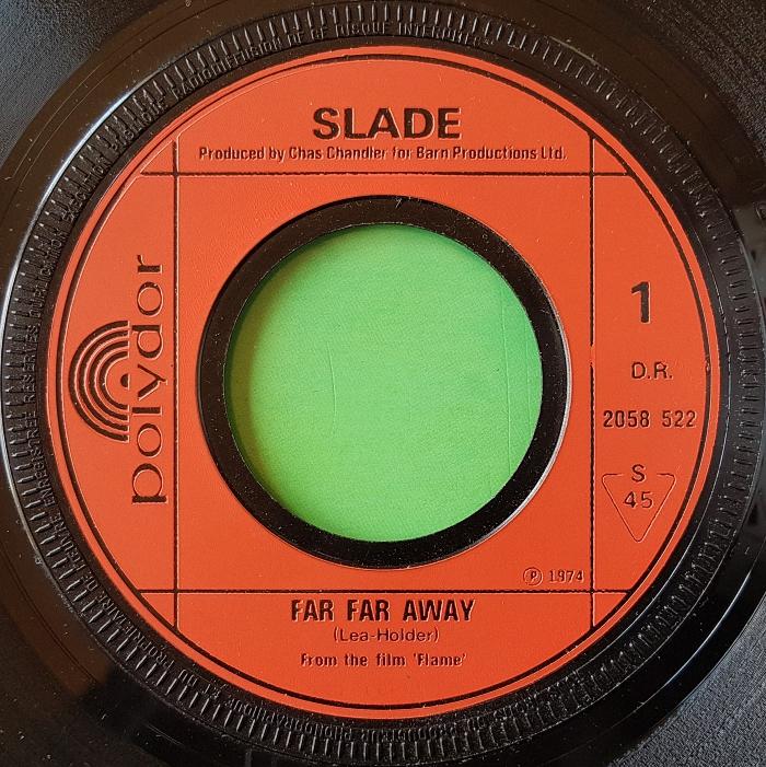 Slade Far Far Away France side 1