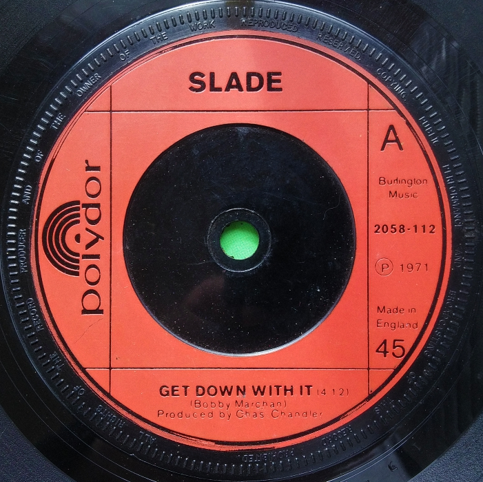 Slade Get Down And Get With It UK 2nd edition side 1