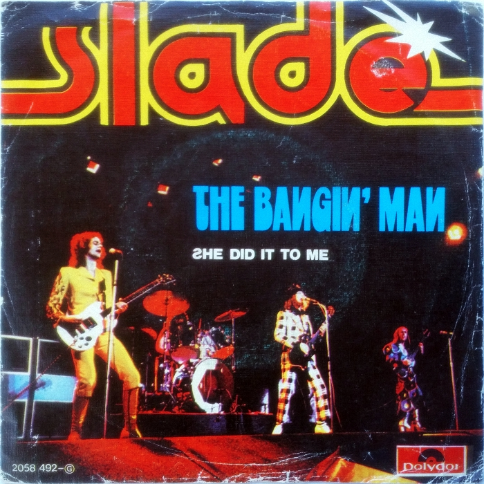 Slade The Bangin Man Portugal front