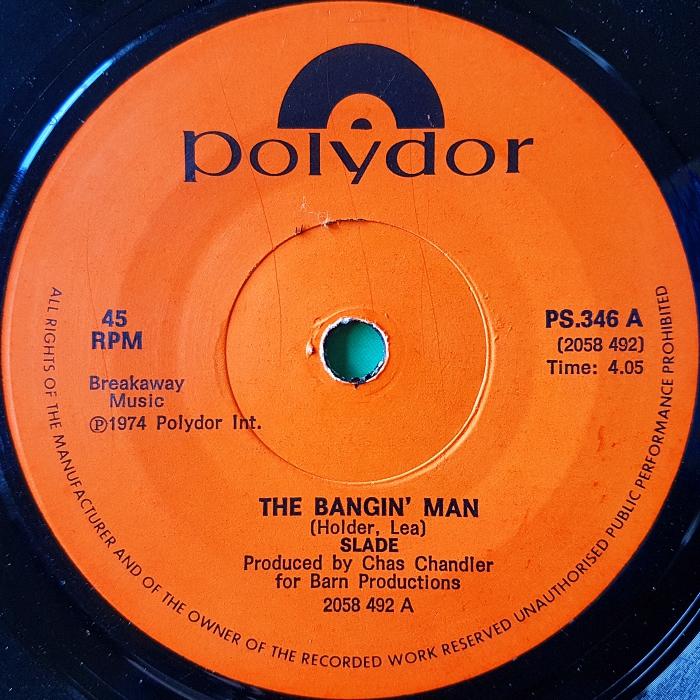 Slade The Bangin Man South Africa side 1