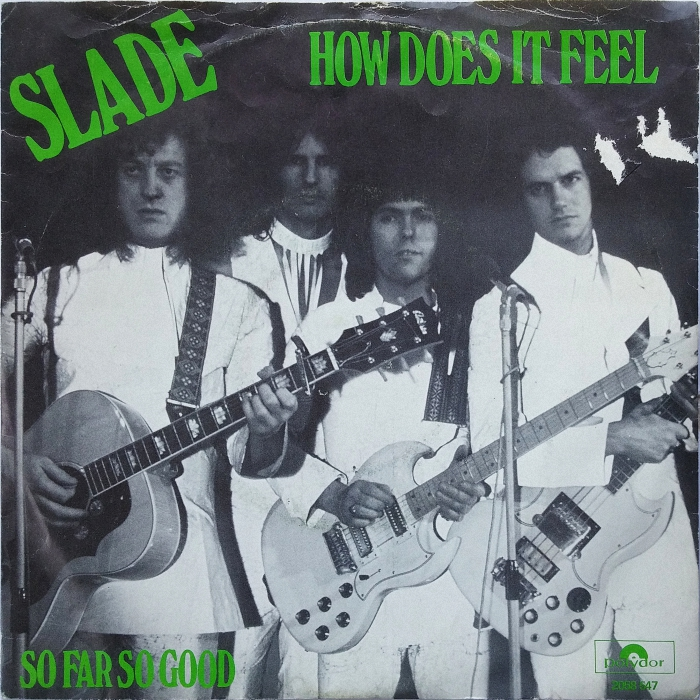Slade How Does It Feel Holland front