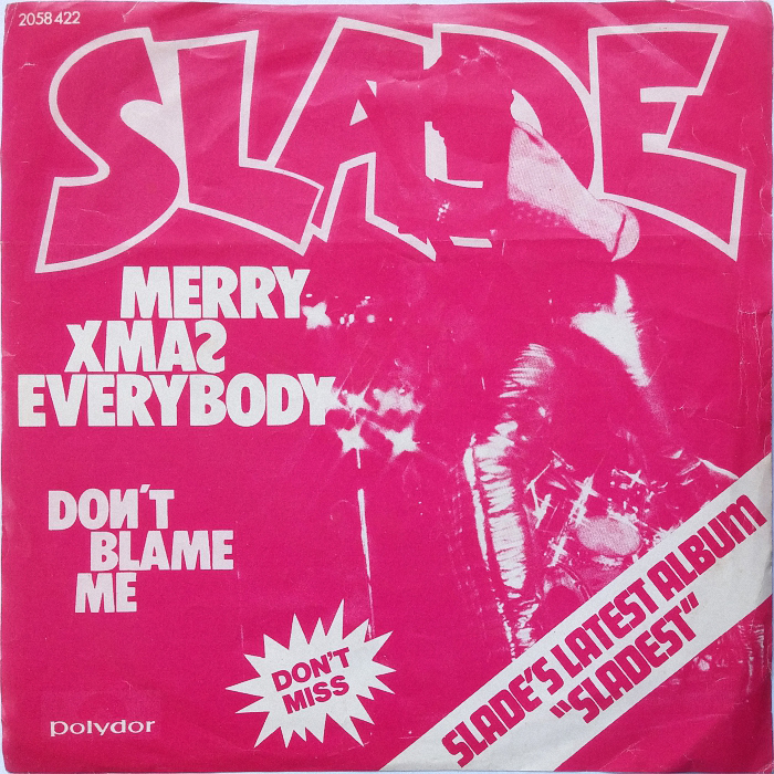 Slade Merry Christmas Everybody Singapore front