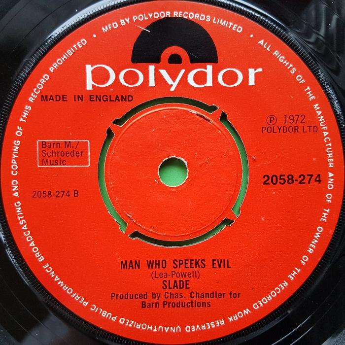 Slade Mama Weer All Crazee Now Ireland side 2 version 2