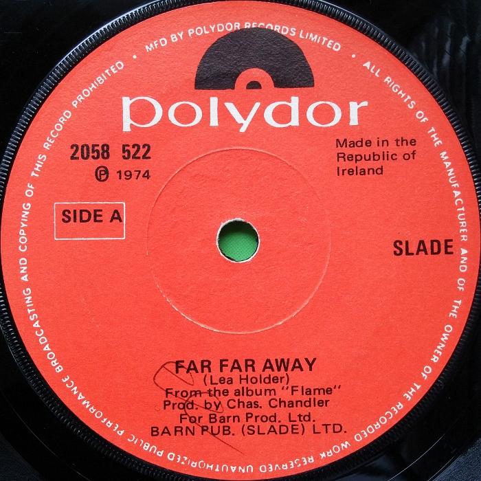 Slade Far Far Away Ireland alternate side 1