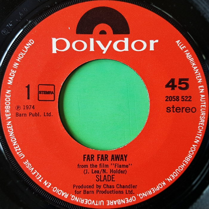 Slade Far Far Away Holland side 1
