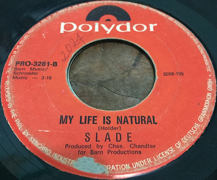 Slade Coz I Love You Philippines side 2
