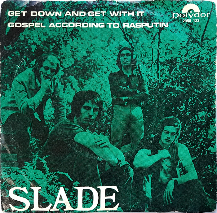 Slade Get Down And Get With It Norway front