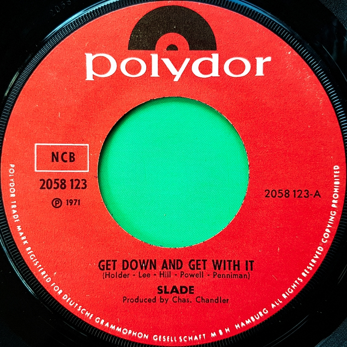 Slade Get Down And Get With It Norway side 1