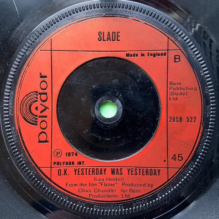 Slade Far Far Away UK side 2