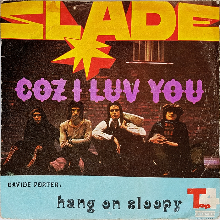 Slade Coz I Love You Iran front