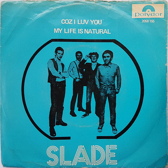 Slade Coz I Love You Norway front