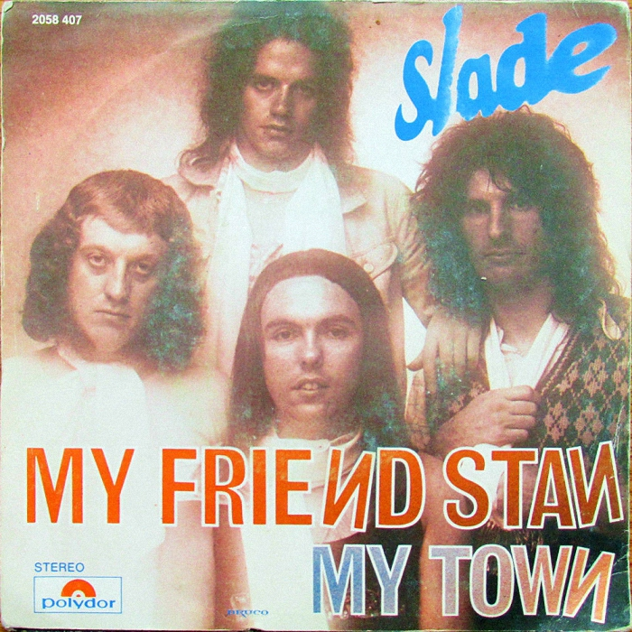 Slade My Friend Stan Belgium back