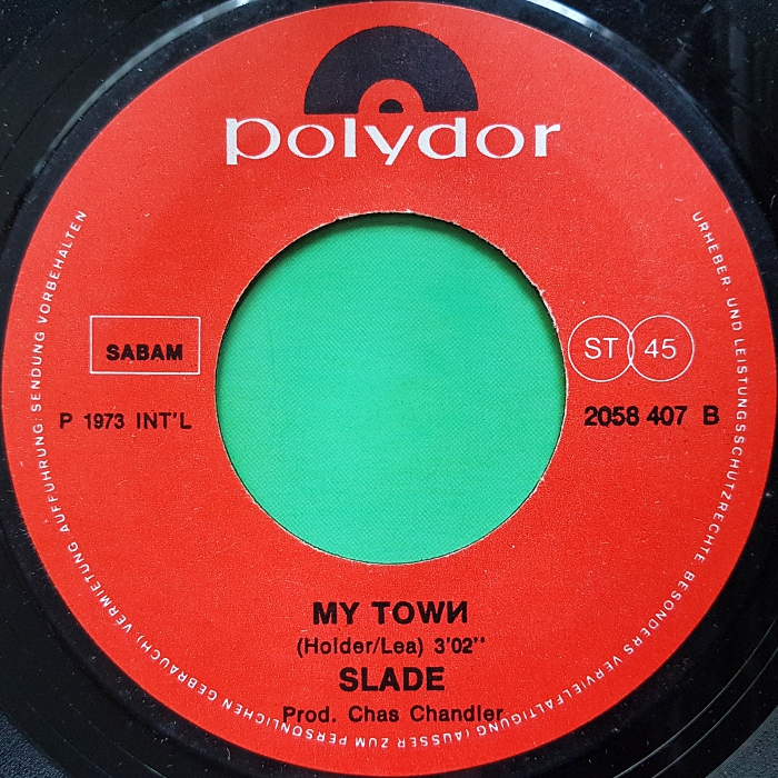 Slade My Friend Stan Belgium side 2