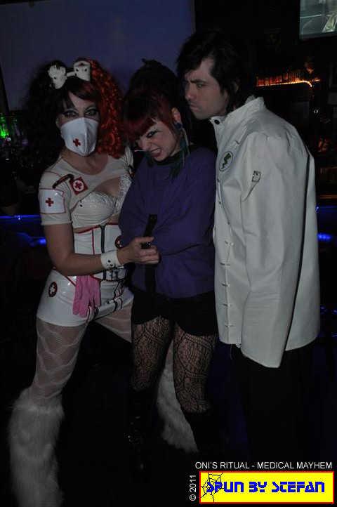 Crazy Kitty Von, Nurse Oni and Dr. Luci